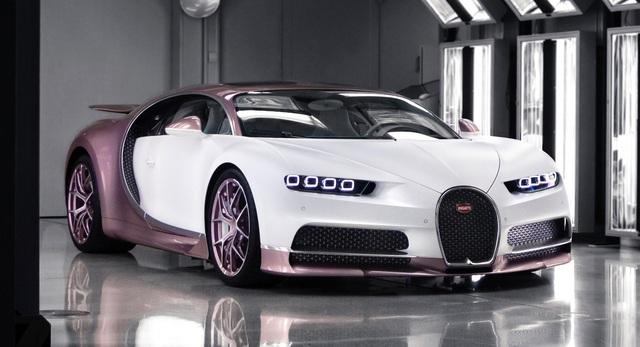 Góc ông chồng của năm: Tặng hẳn cho vợ siêu xe Bugatti Chiron độc nhất vô nhị trị giá gần 3,4 triệu USD nhân dịp Valentine - Ảnh 1.