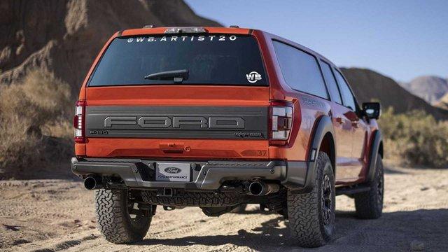 Ford F-150 Raptor SUV: Mẫu xe đáng mong chờ nhất dù ý tưởng mới chỉ nằm trên giấy? - Ảnh 1.