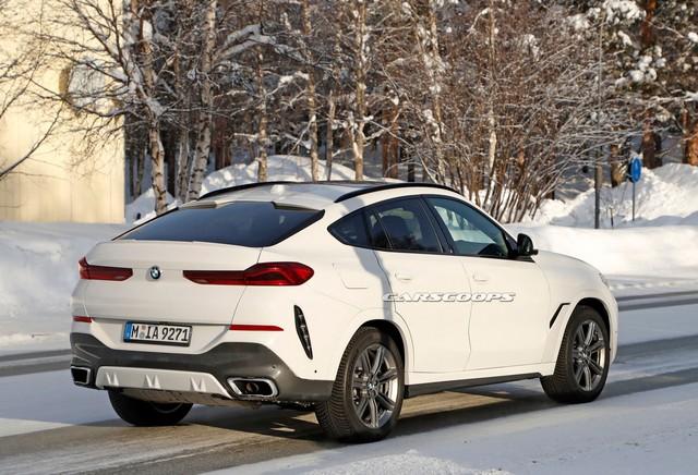 Lộ nội thất BMW X6 mới với màn hình kép lớn và cong như trong rạp phim - Ảnh 3.