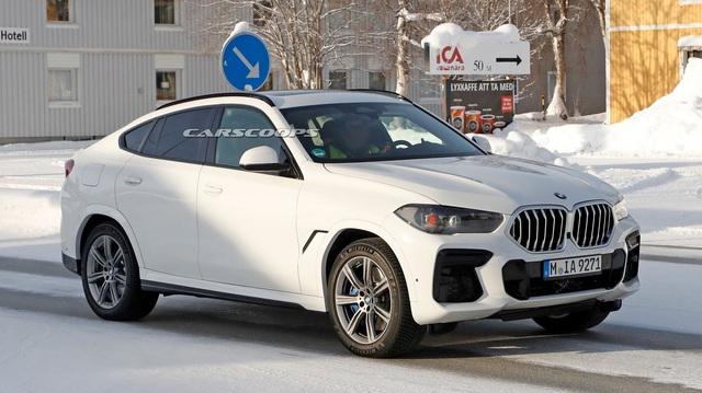 Lộ nội thất BMW X6 mới với màn hình kép lớn và cong như trong rạp phim