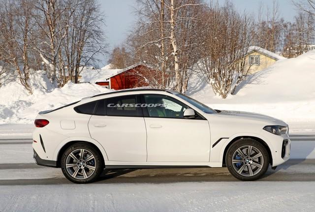 Lộ nội thất BMW X6 mới với màn hình kép lớn và cong như trong rạp phim - Ảnh 1.