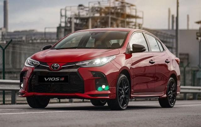 Lộ ảnh thực tế 4 bản Toyota Vios 2021 trước ngày ra mắt Việt Nam: Có trang bị không như kỳ vọng - Ảnh 6.