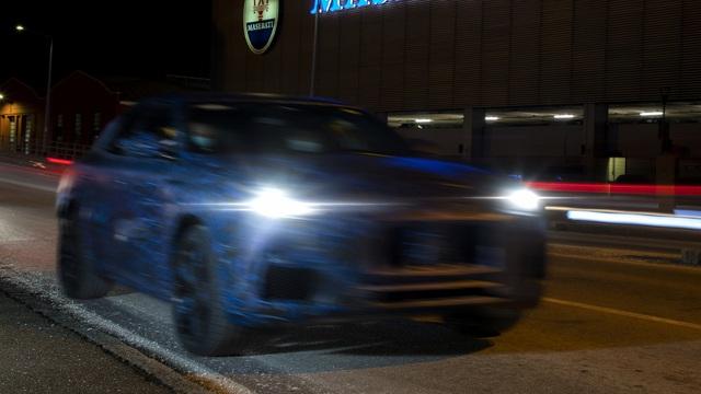 Maserati Grecale liên tục nhá hàng, sắp hoàn thiện để chuẩn bị ra mắt đấu Porsche Macan