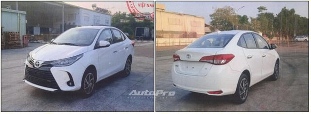 Lộ ảnh thực tế 4 bản Toyota Vios 2021 trước ngày ra mắt Việt Nam: Có trang bị không như kỳ vọng - Ảnh 2.