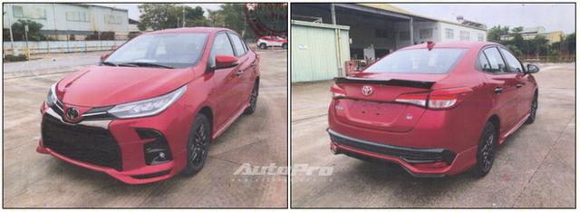 Lộ ảnh thực tế 4 bản Toyota Vios 2021 trước ngày ra mắt Việt Nam: Có trang bị không như kỳ vọng - Ảnh 1.