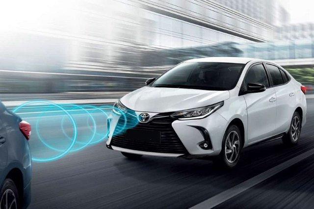 Lộ ảnh thực tế 4 bản Toyota Vios 2021 trước ngày ra mắt Việt Nam: Có trang bị không như kỳ vọng - Ảnh 8.