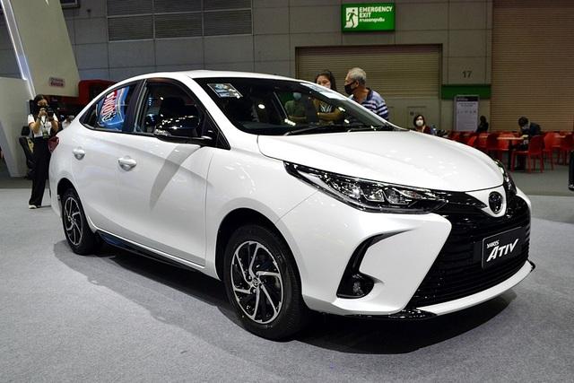 Lộ ảnh thực tế 4 bản Toyota Vios 2021 trước ngày ra mắt Việt Nam: Có trang bị không như kỳ vọng - Ảnh 5.