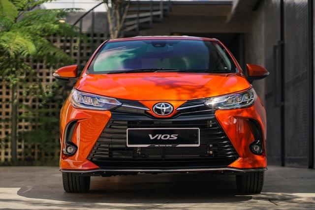 Lộ diện Toyota Vios 2021 tại Việt Nam: Đèn LED sang chảnh như Lexus, có bản thể thao cạnh tranh Honda City RS - Ảnh 5.