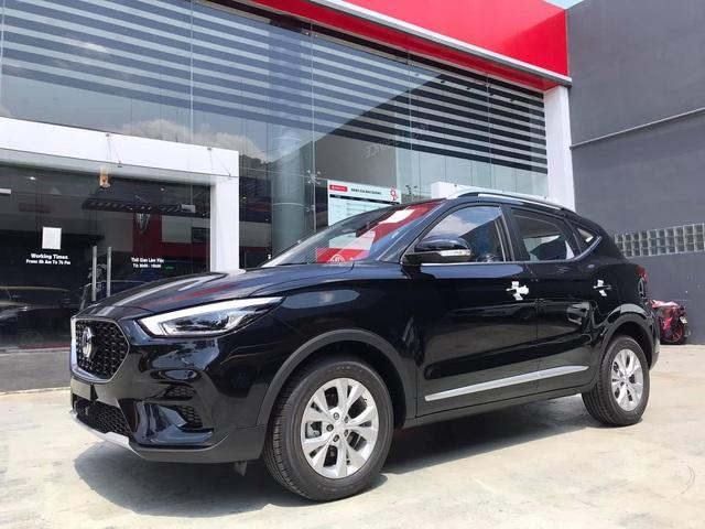 MG ZS 2021 bản giá rẻ về đại lý, mẫu cũ xả hàng còn 450 triệu, quyết đấu Kia Seltos và Hyundai Kona - Ảnh 4.