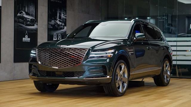 Genesis GV80 nhập tư chào hàng giá hơn 4 tỷ đồng, xe chính hãng vẫn là ẩn số dù đã lăn bánh trên đường - Ảnh 1.