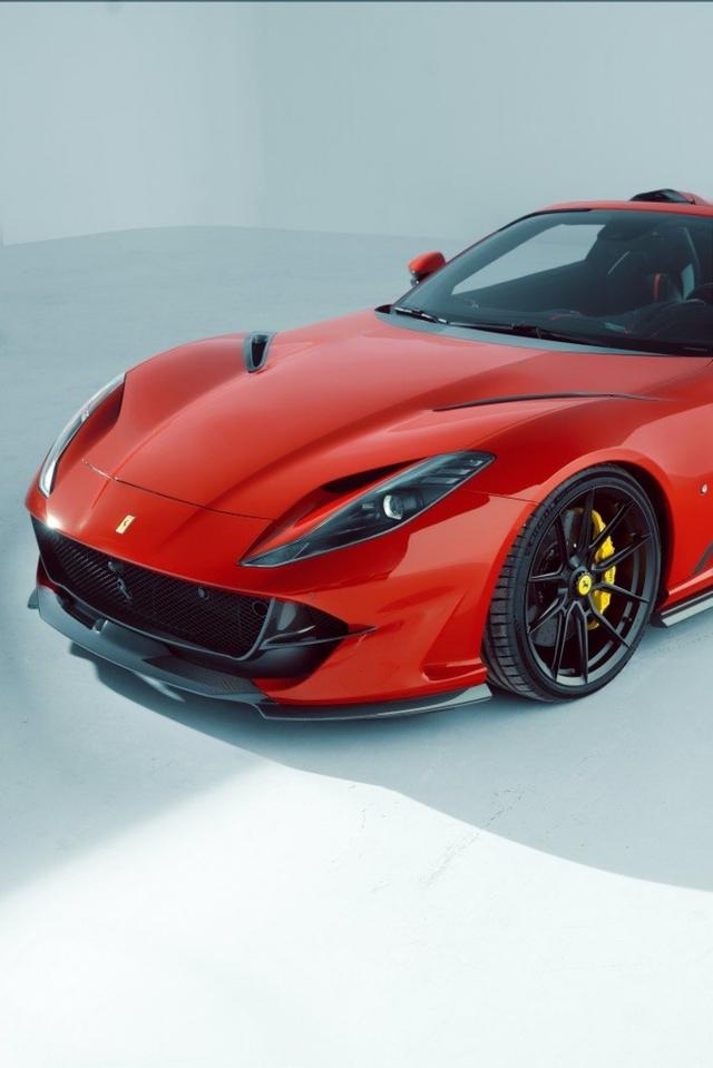Novitec ra mắt gói nâng cấp mới dành cho Ferrari 812 GTS - Ảnh 5.