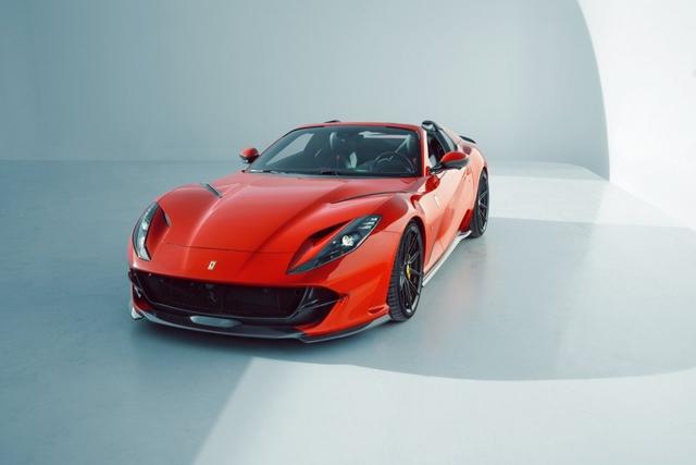 Novitec ra mắt gói nâng cấp mới dành cho Ferrari 812 GTS - Ảnh 6.