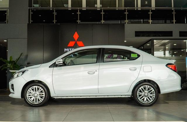 Ra mắt Mitsubishi Attrage Premium 2021 tại Việt Nam: Giá 485 triệu, thêm 7 trang bị mới tập trung vào an toàn, có điểm vượt Toyota Vios - Ảnh 5.