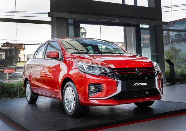 Ra mắt Mitsubishi Attrage Premium 2021 tại Việt Nam: Giá 485 triệu, thêm 7 trang bị mới tập trung vào an toàn, có điểm vượt Toyota Vios - Ảnh 1.