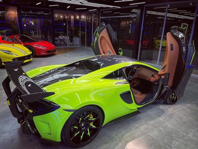 McLaren 570S từng thuộc sở hữu của doanh nhân Nguyễn Quốc Cường tái xuất với ngoại thất bắt mắt - Ảnh 7.