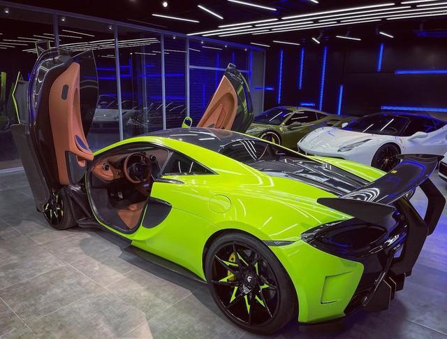 McLaren 570S từng thuộc sở hữu của doanh nhân Nguyễn Quốc Cường tái xuất với ngoại thất bắt mắt - Ảnh 1.