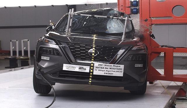 Nissan X-Trail 2021 sắp về Việt Nam bị chấm 2 điểm an toàn cho hàng ghế trước - Ảnh 1.