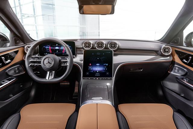 Ra mắt Mercedes-Benz C-Class 2022: Tiểu S-Class đè bẹp 3-Series, A4 - Ảnh 13.