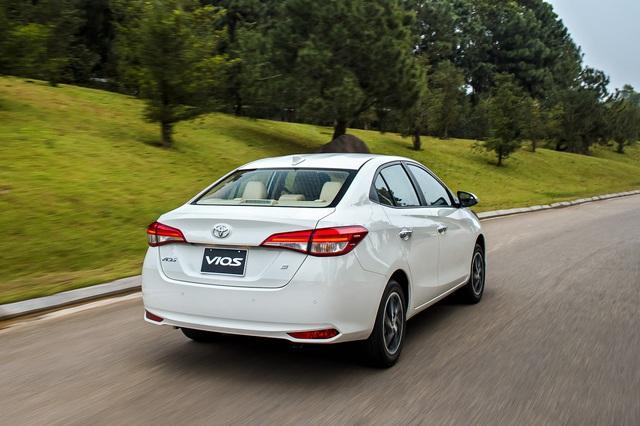 Toyota Vios 2021 giá từ 478 triệu đồng tại Việt Nam: Vua doanh số thêm bản mới đấu Honda City RS - Ảnh 6.