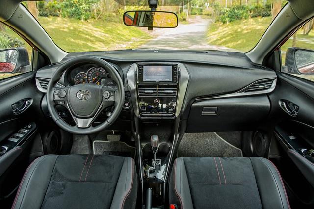 Toyota Vios 2021 giá từ 478 triệu đồng tại Việt Nam: Vua doanh số thêm bản mới đấu Honda City RS - Ảnh 5.