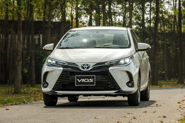 Toyota Vios 2021 giá từ 478 triệu đồng tại Việt Nam: Vua doanh số thêm bản mới đấu Honda City RS - Ảnh 1.