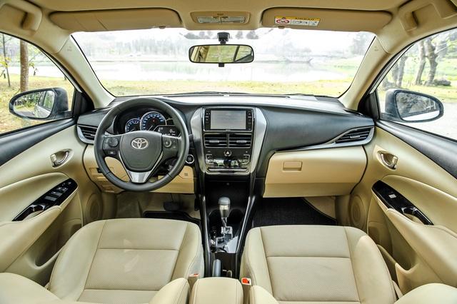 Toyota Vios 2021 giá từ 478 triệu đồng tại Việt Nam: Vua doanh số thêm bản mới đấu Honda City RS - Ảnh 4.