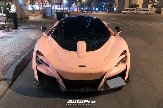 Vừa đổi biển số mới, đại gia lan đột biến Bình Dương thay áo cho McLaren 720S độ N-Largo độc nhất Việt Nam - Ảnh 2.