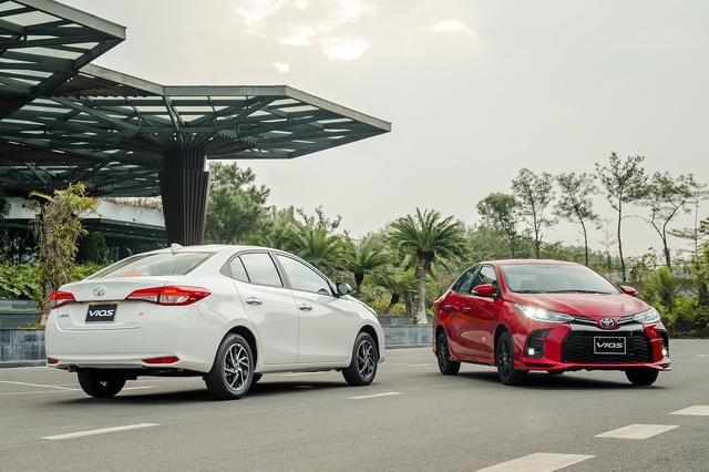 Chênh 152 triệu đồng, 4 bản Toyota Vios 2021 có gì khác, GR-S đắt nhất phân khúc có đáng mua? - Ảnh 1.