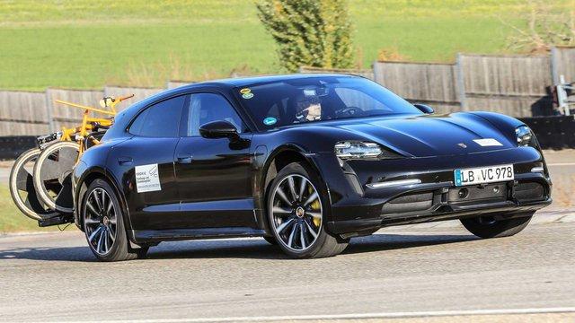 Porsche Taycan Cross Turismo chốt ngày ra mắt sau khi chạy thử hết 25 vòng trái đất - Ảnh 3.