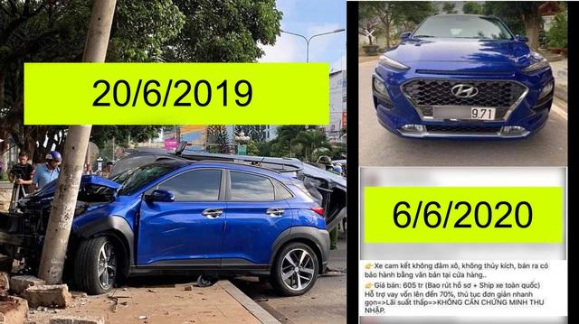 Bán Hyundai Kona cam kết 'không đâm đụng', chủ showroom 'muối mặt' khi bị CĐM 'vạch trần' sự thật
