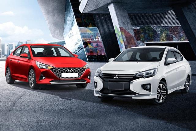 Trên 450 triệu, chọn Mitsubishi Attrage, Kia Soluto bản đủ, Hyundai Accent bản thiếu hay xuống hẳn Hyundai i10 cao cấp dư tiền sướng hơn?