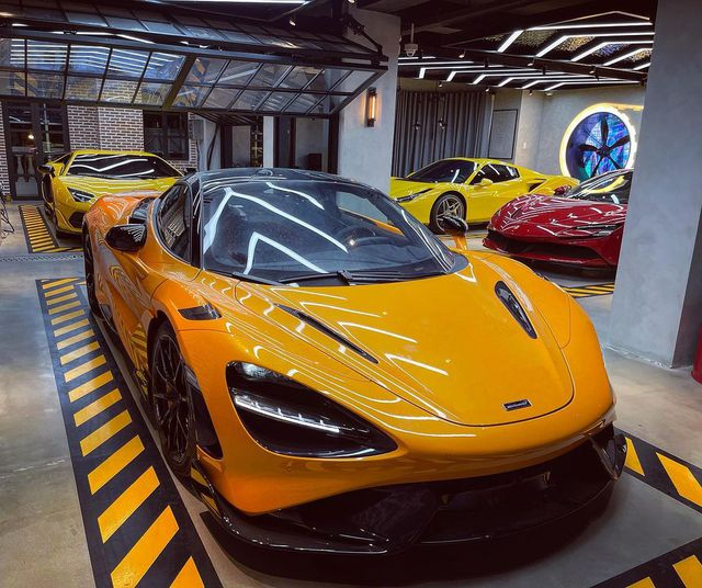 Hé lộ dàn xe khủng của nữ đại gia 9x ngành cà phê: Ngoài McLaren 765LT độc nhất còn Ferrari F8 Spider đầu tiên và nhiều siêu phẩm khác - Ảnh 2.
