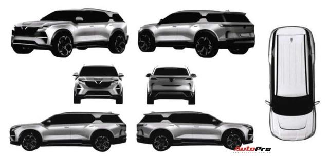 Lộ thiết kế SUV VinFast lạ tại Việt Nam: Kích thước lớn, hầm hố hơn Lux SA2.0 - Ảnh 1.