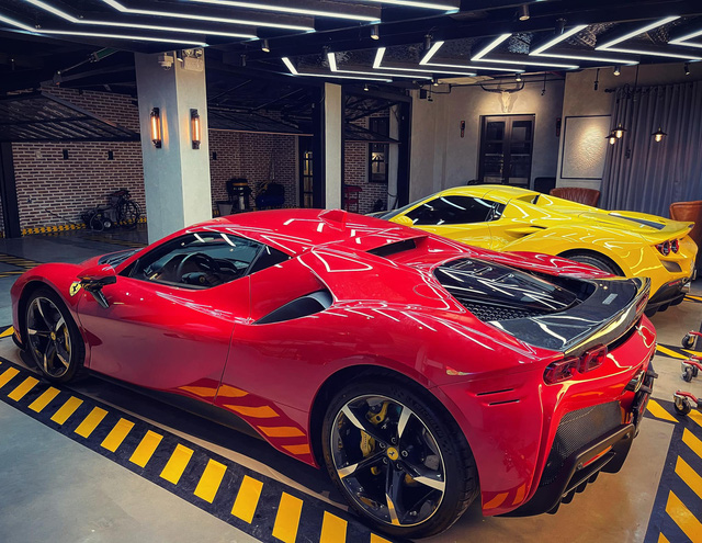 Ferrari SF90 Stradale thứ hai về Việt Nam đã có chủ, chung garage với một chiếc siêu xe đình đám không kém - Ảnh 1.