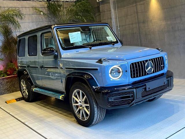 Nguyễn Quốc Cường đưa Mercedes-AMG G 63 màu độc về garage, Minh nhựa bình luận một câu thu hút nhiều sự chú ý - Ảnh 1.