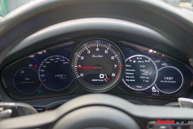 Ngắm Porsche Cayenne Turbo 2020 vừa về Việt Nam: SUV giá hơn 10 tỷ đồng cho đại gia thích tốc độ - Ảnh 6.