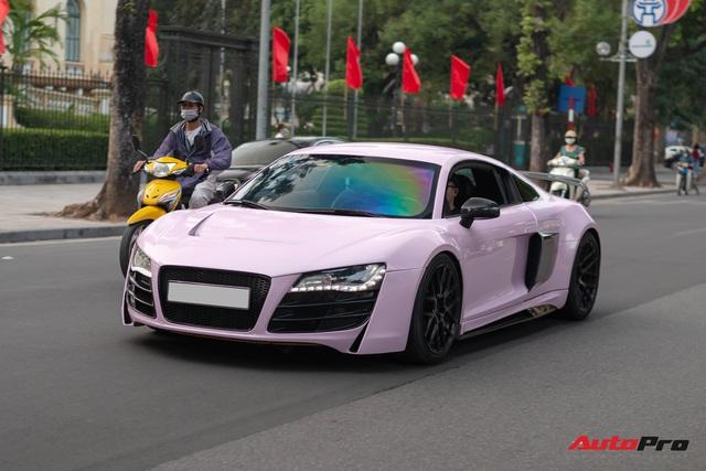 Audi R8 độ cực độc của đại gia Hà Thành trở nên nữ tính hơn nhờ chi tiết này - Ảnh 1.