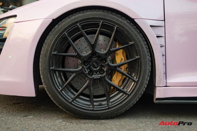 Audi R8 độ cực độc của đại gia Hà Thành trở nên nữ tính hơn nhờ chi tiết này - Ảnh 6.