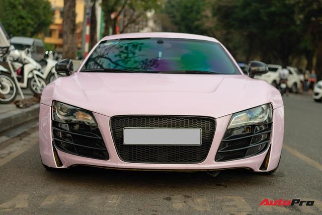 Audi R8 độ cực độc của đại gia Hà Thành trở nên nữ tính hơn nhờ chi tiết này - Ảnh 2.