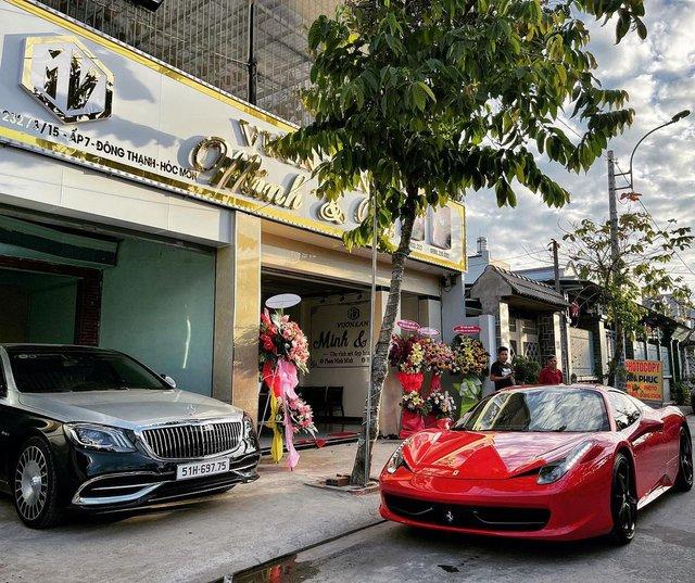 Đại gia lan đột biến vung tiền mua lại Ferrari 458 Spider từng thuộc sở hữu của ông Đặng Lê Nguyên Vũ - Ảnh 1.
