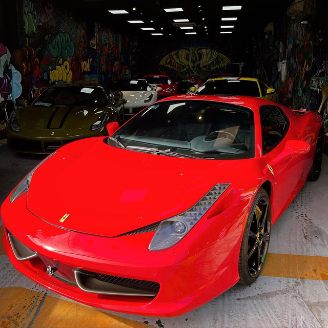 Đại gia lan đột biến vung tiền mua lại Ferrari 458 Spider từng thuộc sở hữu của ông Đặng Lê Nguyên Vũ - Ảnh 2.