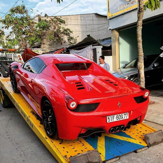 Đại gia lan đột biến vung tiền mua lại Ferrari 458 Spider từng thuộc sở hữu của ông Đặng Lê Nguyên Vũ - Ảnh 3.