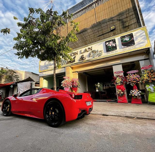 Đại gia lan đột biến vung tiền mua lại Ferrari 458 Spider từng thuộc sở hữu của ông Đặng Lê Nguyên Vũ - Ảnh 4.
