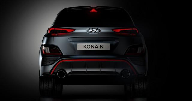 Hyundai Kona N cho dân mê tốc độ hé lộ hé lộ nhiều chi tiết như xe đua, có chế độ phấn khích giống trên xe Porsche - Ảnh 3.