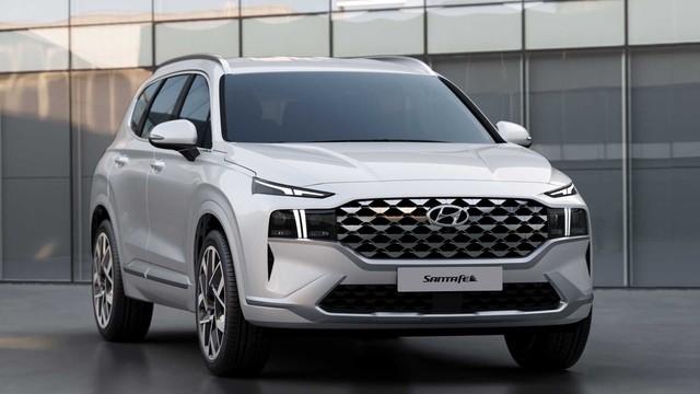 Hyundai Santa Fe 2021 lăn bánh trên phố với đầy đủ biển số: Một chi tiết tiết lộ nguồn gốc thực sự - Ảnh 4.