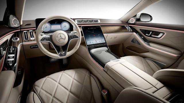 Mercedes-Maybach S-Class thế hệ mới rẻ nhất cũng ngang một căn nhà, ngang Bentley Flying Spur - Ảnh 4.