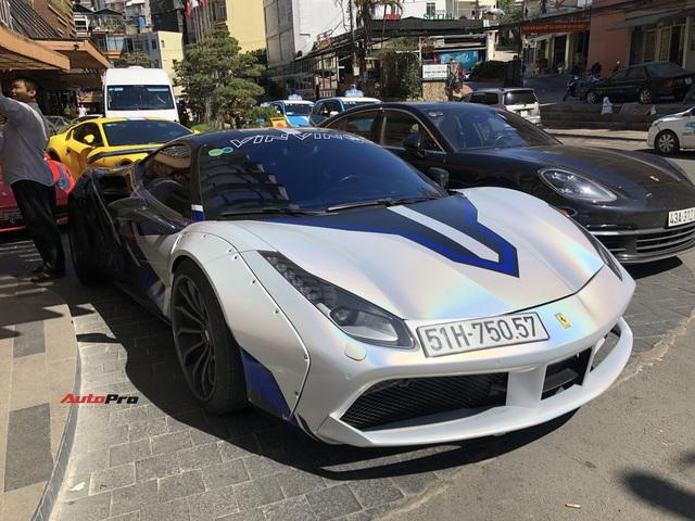 Doanh nhân kinh doanh online mang Ferrari 488 GTB độc nhất Việt Nam đi chơi Đà Lạt - Ảnh 1.