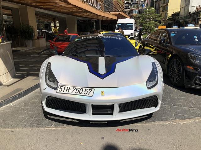 Doanh nhân kinh doanh online mang Ferrari 488 GTB độc nhất Việt Nam đi chơi Đà Lạt - Ảnh 3.