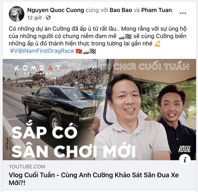 Nguyễn Quốc Cường lái Mercedes-AMG GT R khảo sát mở đường đua drag siêu độc tại Việt Nam - Ảnh 1.