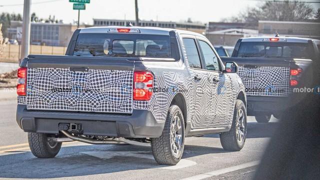 Đây là những hình ảnh rõ ràng nhất của Ford Maverick mới - Đàn em Ranger - Ảnh 4.
